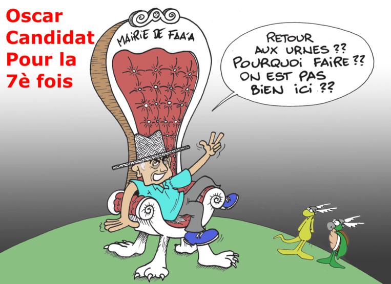 """""""Temaru aux Municipales"""", par Munoz"""