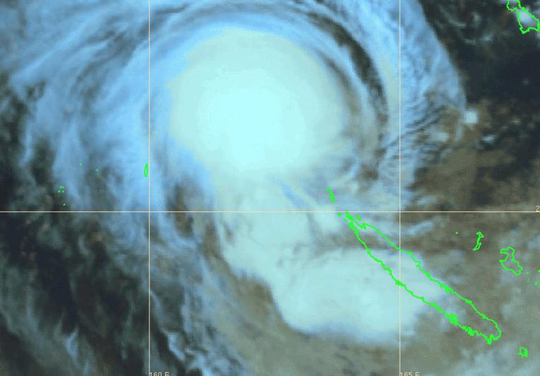 La Nouvelle-Calédonie en pré-alerte cyclonique