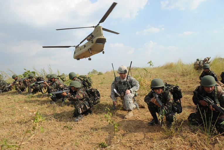 Les Philippines enclenchent la rupture du pacte militaire avec les Etats-Unis