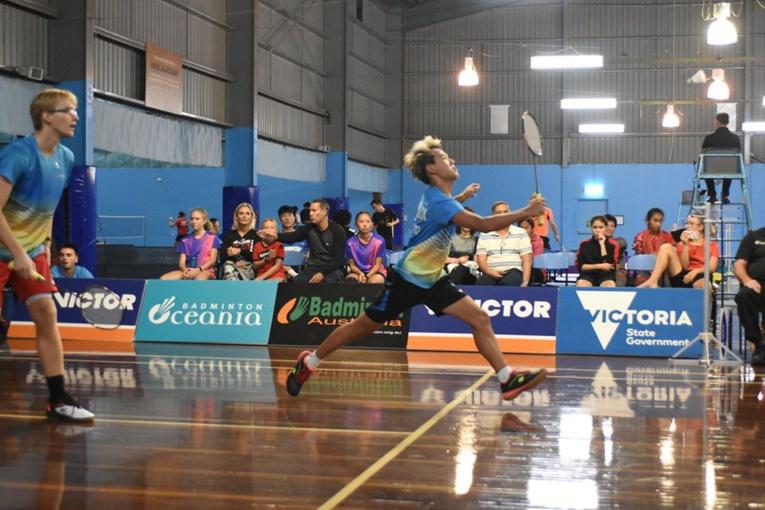 En double messieurs, la paire Beaubois-Scilloux a réussi à remporter un set face à la paire australienne Benjamin Eu-Wen Chen et Gavin Kyac Ong.