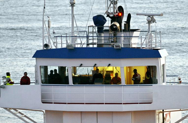 Un mort et trois marins intoxiqués au large de Brest