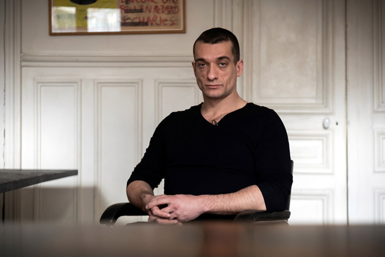 Affaire Griveaux: Piotr Pavlenski et sa compagne placés en garde à vue
