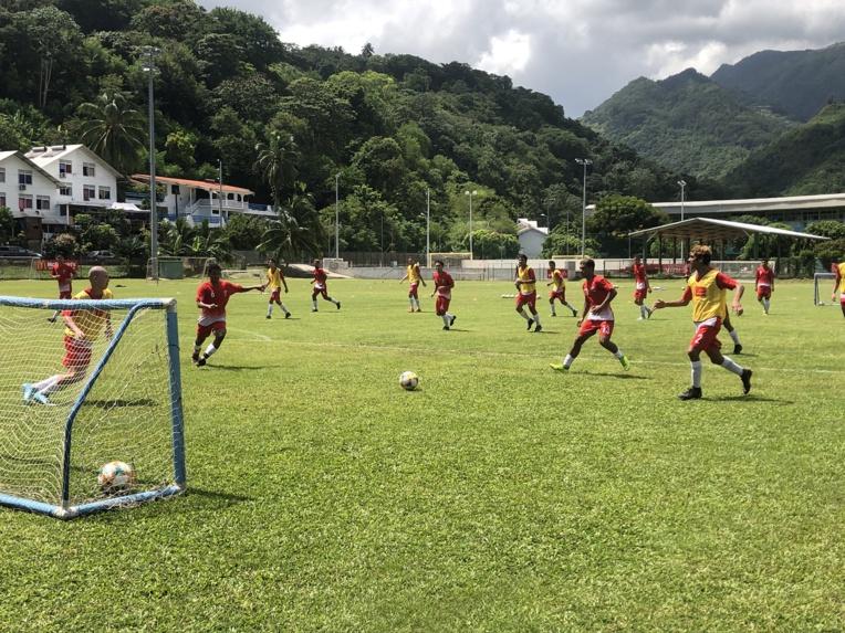 Les Aito Taurea ont rendez-vous jusqu'à vendredi au centre technique de la Fédération tahitienne de football.