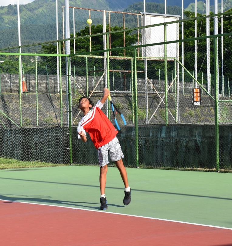 Keanau Lei Foc, jeune talent de l'AS Excelsior, a remporté le Master Jeunes dans la catégorie des 11-12 ans.