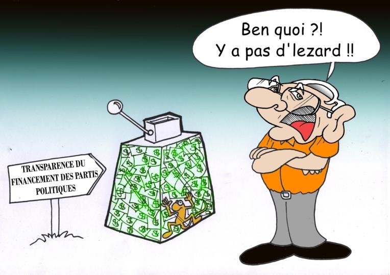 """""""Les comptes des partis politiques"""", par Munoz"""