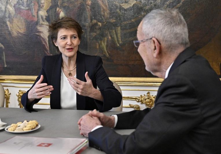 La présidente suisse fêtera ses 60 ans avec ceux qui partagent sa date de naissance