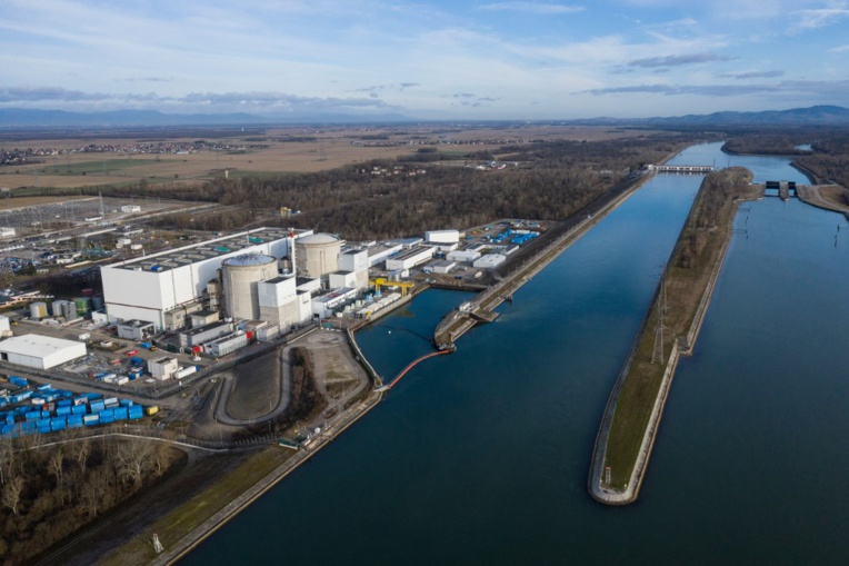 Fessenheim : les salariés font monter la pression à quelques heures de l'arrêt du réacteur n°1