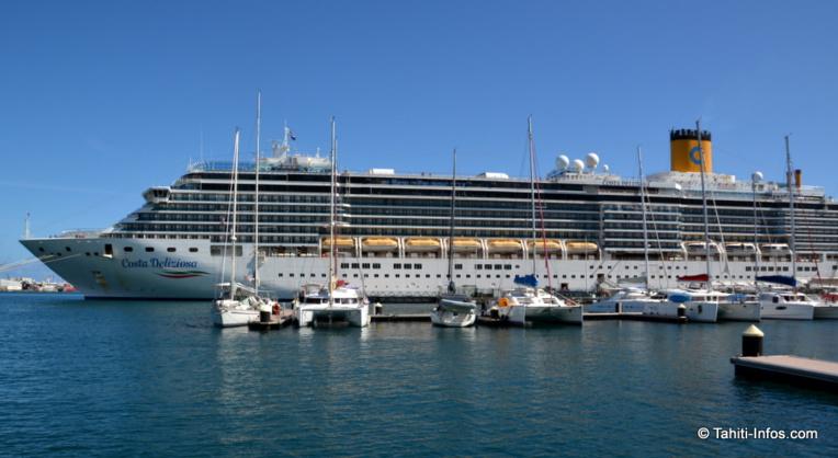 Les bateaux de croisière dominent le paysage du Port cette semaine