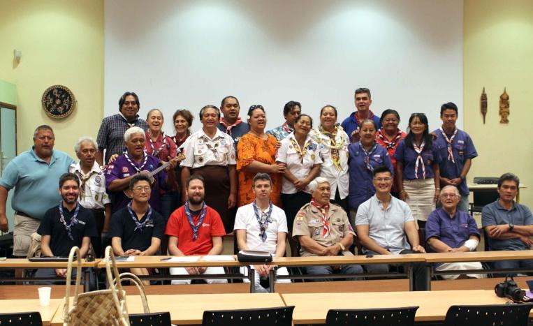 Les scouts polynésiens se rapprochent des Scouts de France