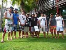 Le gratin mondial du Stand Up Paddle est à Tahiti pour disputer la Sapinus Pro 2012, la semaine prochaine