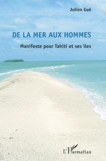 """Julien Gué signe """"De la mer aux hommes"""" chez l'Harmattan"""