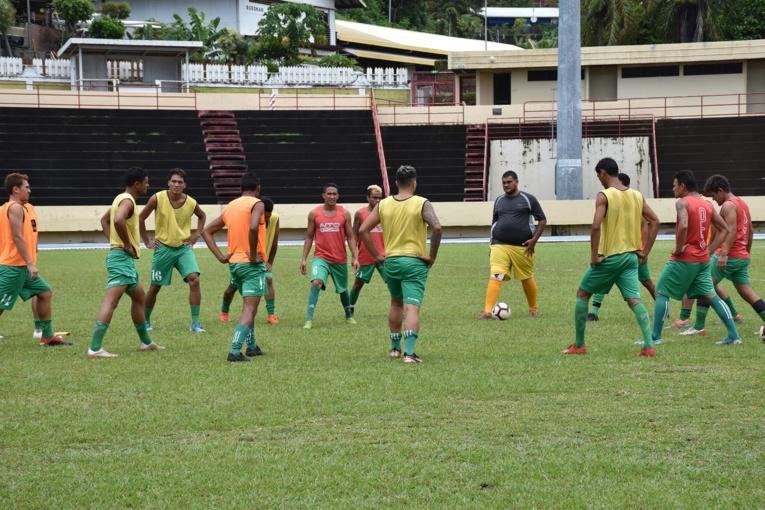 Au sein de son effectif, le coach Terai s'appuie principalement sur des joueurs originaires de Moorea.
