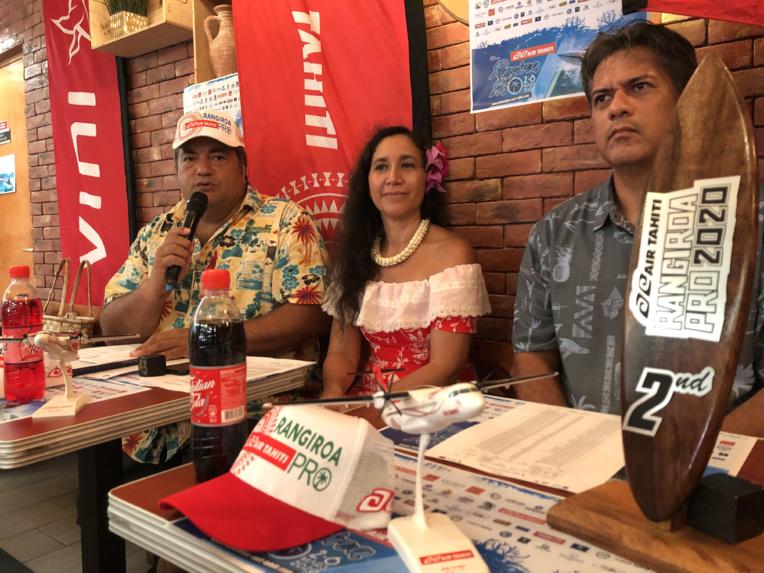 17 surfeurs tahitiens tenteront d'inscrire leur nom au palmarès du Air Tahiti Rangiroa Pro.