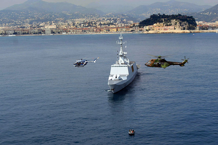 La Marine française met le cap sur l'Asie pour rappeler le droit maritime international