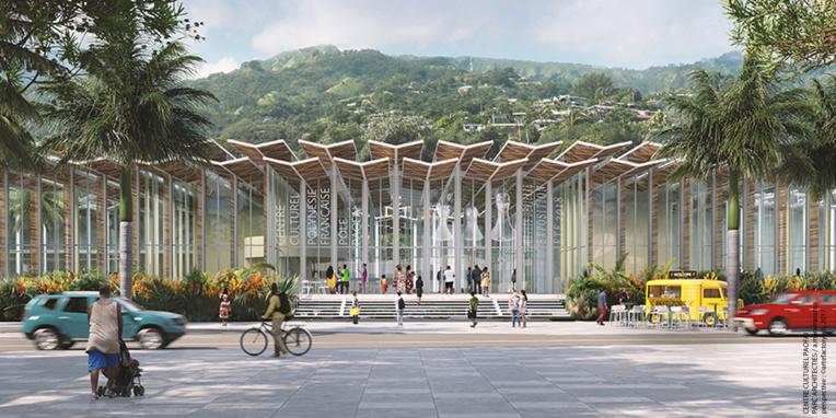 Le centre culturel de Paofai devrait être achevé d'ici 2023.