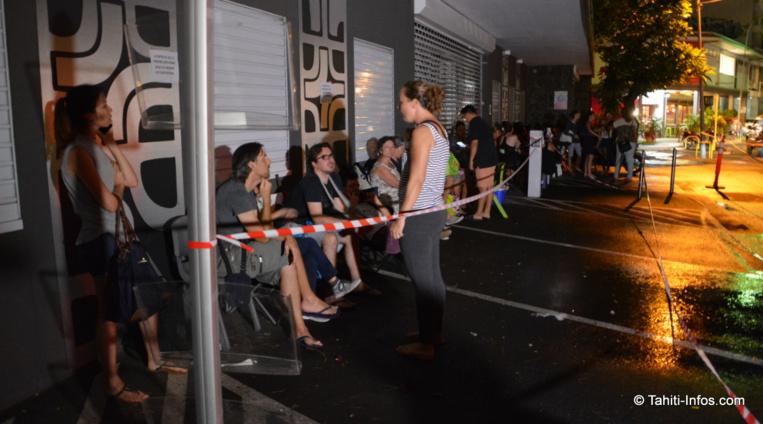 Près de 70 artisans ont fait la queue dès mercredi soir pour s'assurer d'être dans les élus qui auront droit à un stand pour le salon Made in Fenua.