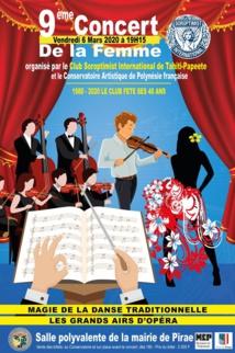 Neuvième édition du concert de la femme