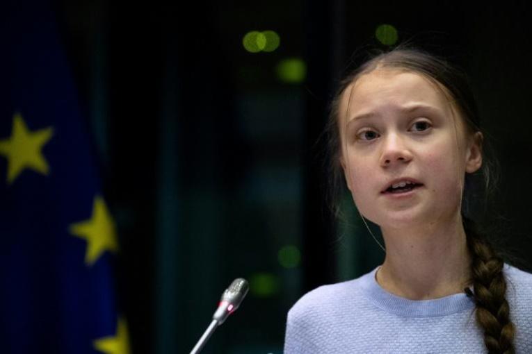 Jeunes pour le climat: 3.400 manifestants à Bruxelles avec Greta Thunberg