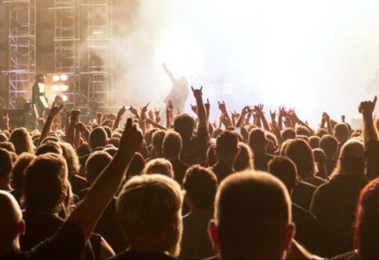 Environ 12000 fans du groupe Tool étaient présents pour le concert du 28 février à Christchurch au Spark Arena (Photo : Compte Tweeter Spark Arena).
