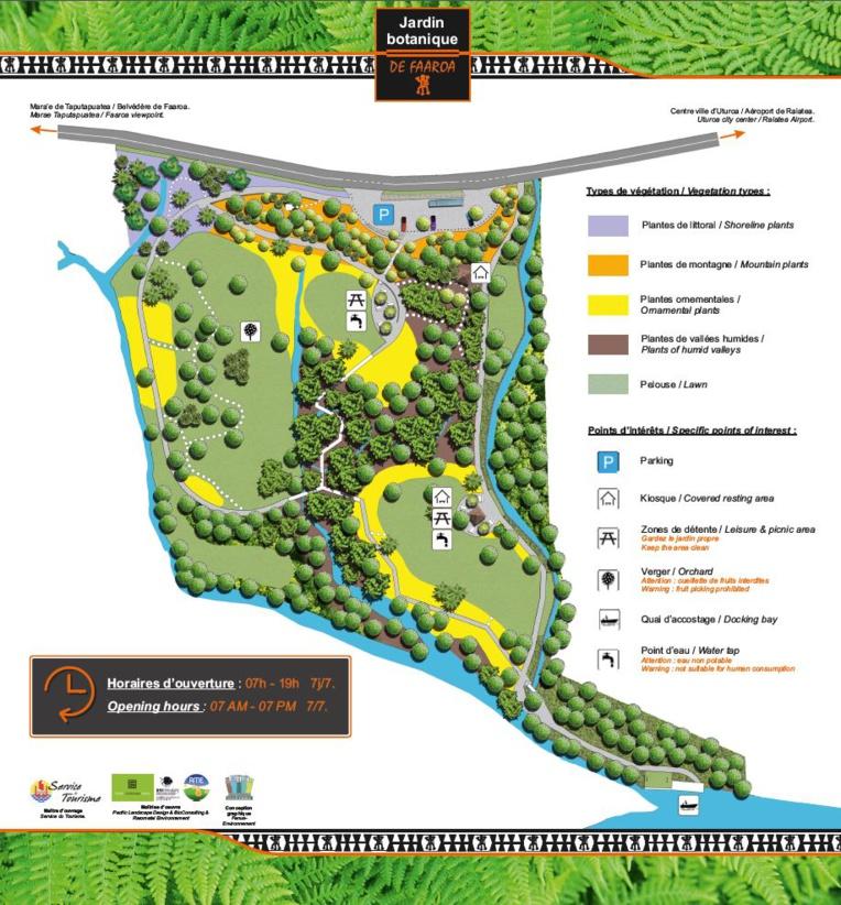 Raiatea : Le jardin botanique de Faaroa rouvert au public