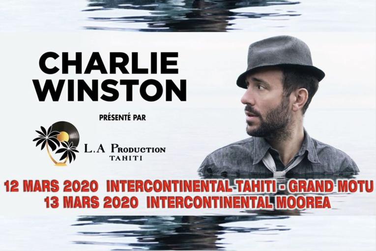 """Charlie Winston : """"Les concerts concentrent les énergies"""""""