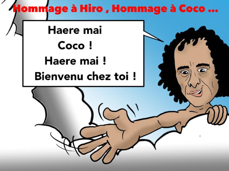 """""""Hommages"""", par Munoz"""