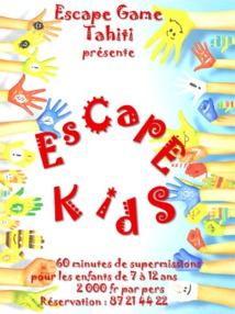Page enfant : S'échapper, un jeu d'enfants