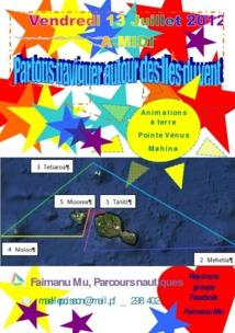 Faimanu Mu, un parcours nautique autour des îles du vent
