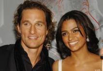 L'acteur Matthew McConaughey a épousé sa compagne brésilienne