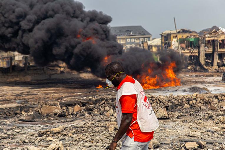 Nigeria: une vingtaine de morts dans une très forte explosion à Lagos