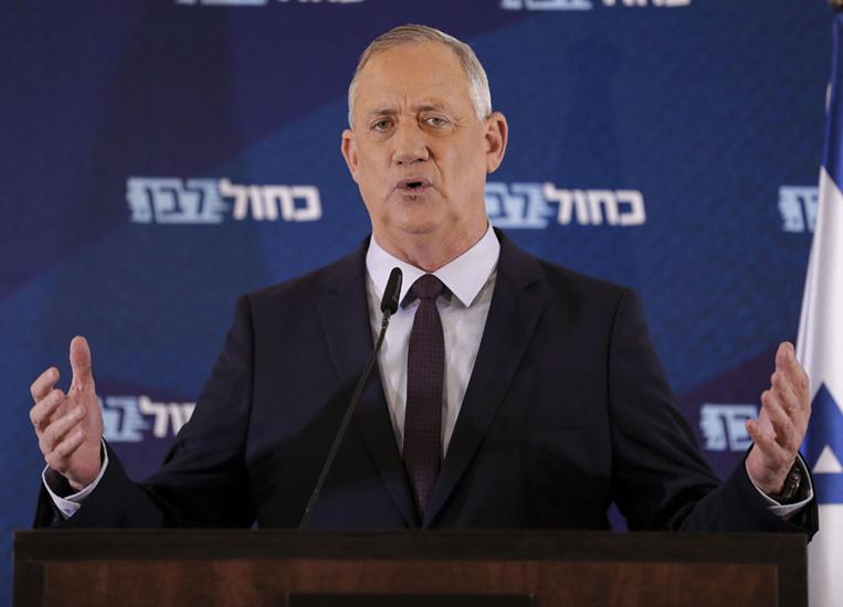 Israël: Benny Gantz, rival de Netanyahu, chargé de former le nouveau gouvernement