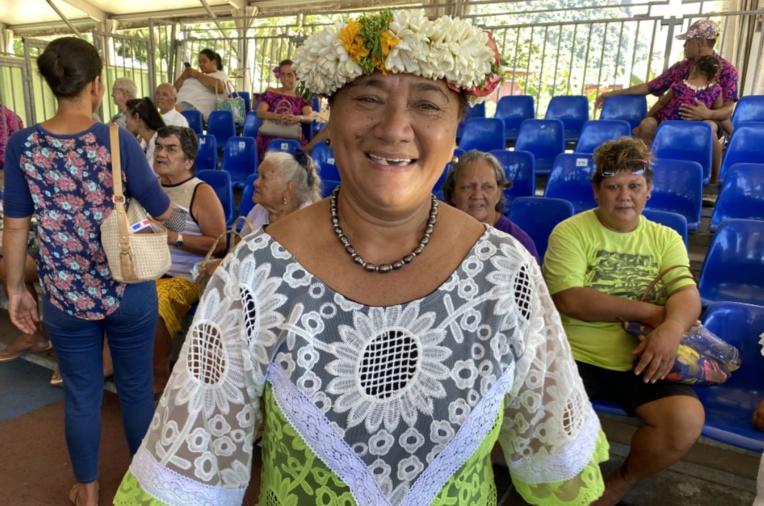Sonia Punua est sortie en tête du premier tour des élections municipales à Papara.