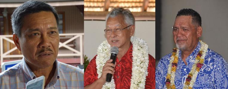 Tong Sang, Tetuanui et Moutame rempilent