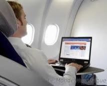 Les passagers d'Air France et KLM vont bientôt tester l'internet en vol