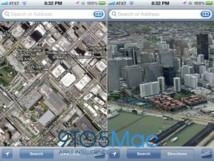 Apple lance son propre service de cartographie pour iPhone et iPad