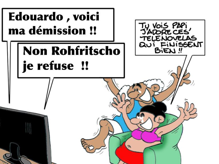 """""""Le feuilleton"""", par Munoz"""