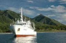 Plateforme d'exploration du GOPS dans le Pacifique Sud