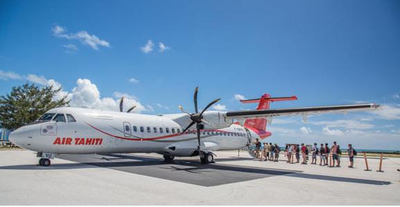 Air Tahiti : Des vols réservés aux élèves et aux touristes étrangers