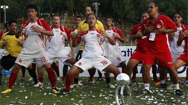 Coupe des Confédérations: Tahiti, le petit poucet chez les géants du foot