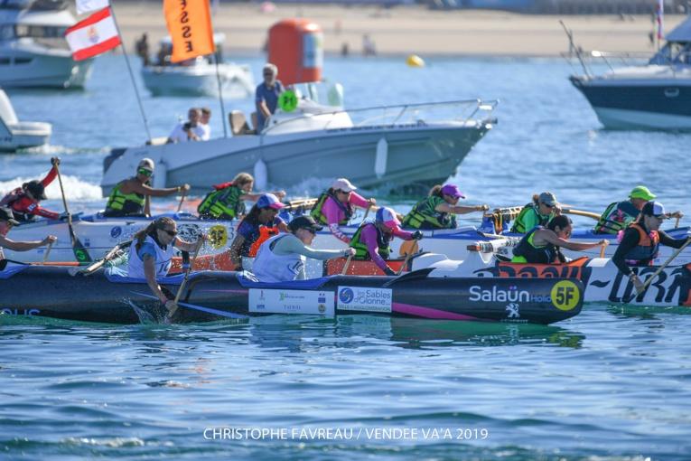 23 équipages étaient attendus sur la ligne de départ pour la 11ème édition de la Vendée Va'a.