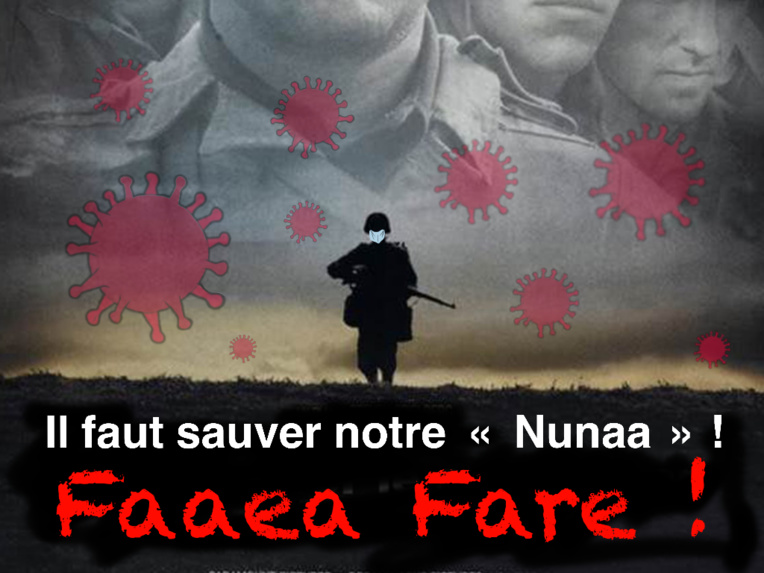 """La Nation en danger"", par Munoz"