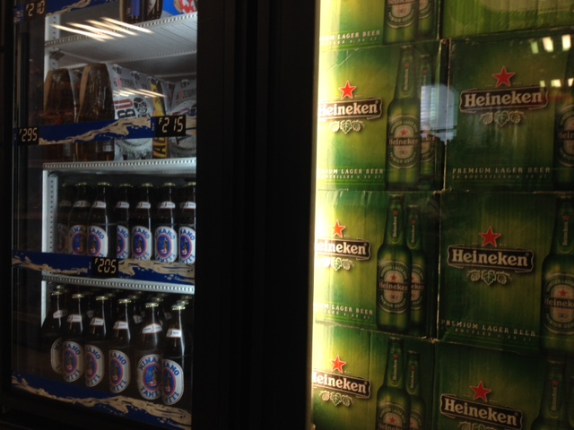 La vente d'alcool à emporter interdite jusqu'au 5 avril