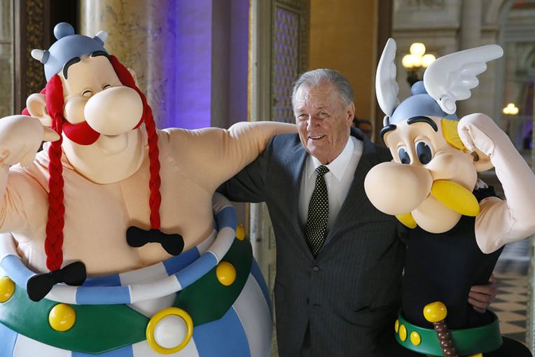 Décès d'Albert Uderzo, le dessinateur d'Astérix, à l'âge de 92 ans