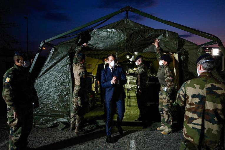 Renfort militaire en Outre-mer: d'abord des masques et des respirateurs demandent les élus