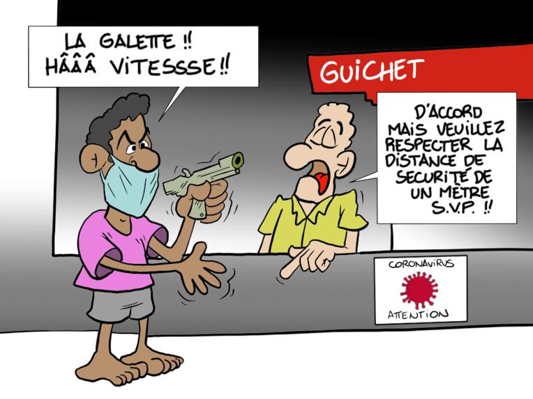 """""""La BP braquée"""", par Munoz"""