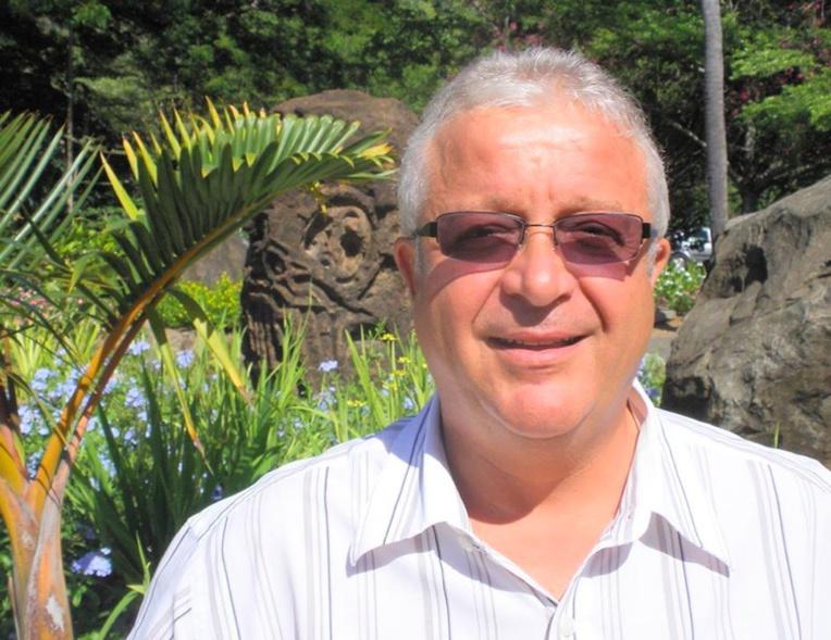 Thierry Brovelli, directeur général du groupe Intercontinental en Polynésie et co-président du Conseil des professionnels de l'hôtellerie (CPH).