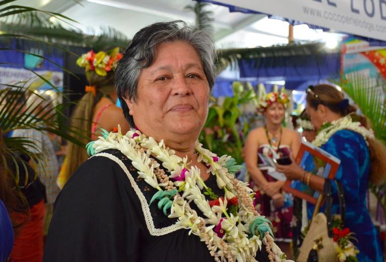 Mélinda Bodin, présidente de l'association du tourisme authentique de Polynésie française.