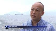 A Hong Kong, la vogue des funérailles en mer devant la cherté des terrains