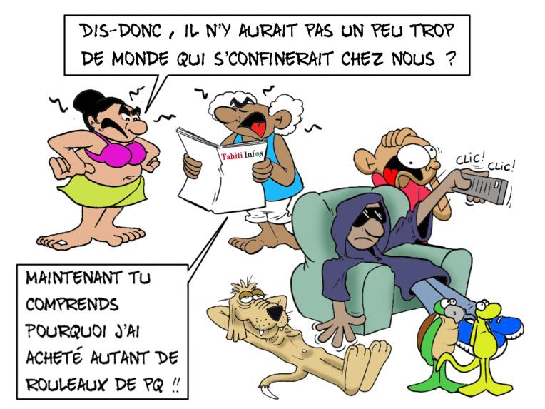 """""""Confinement entre amis"""", par Munoz"""