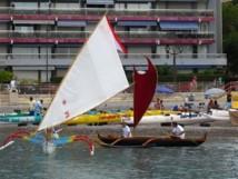 La Roquebrunoise: course de va'a